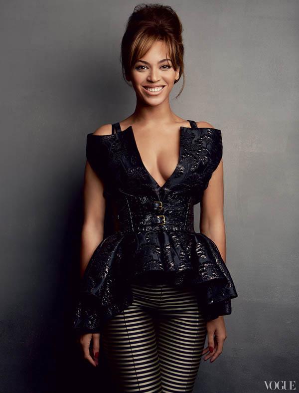 Beyonce pose pour le magazine Vogue américain