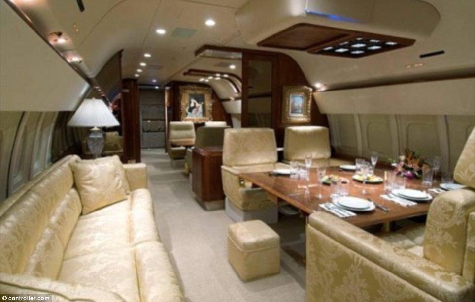 Jet priv int rieur luxe 012 sajou - Jet prive de luxe interieur ...