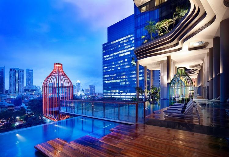 L'hotel Park Royal de Singapour