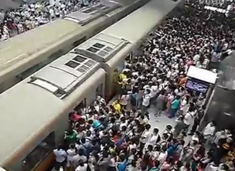Le métro en Chine est pire que le métro parisien
