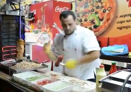 Kung Fu Kebab sur le theme de Mortal Kombat