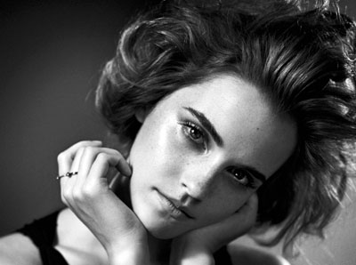 Emma Watson en vintage chic pour le magazine GQ