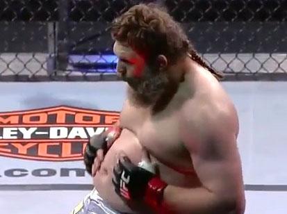 Roy Nelson réalise de belles performances en MMA malgré sa masse