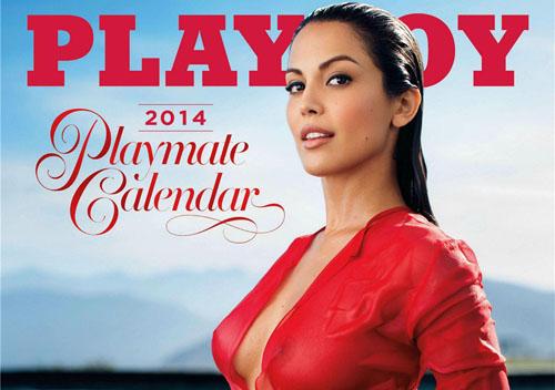 Le Calendrier Playboy 2014 est enfin sorti