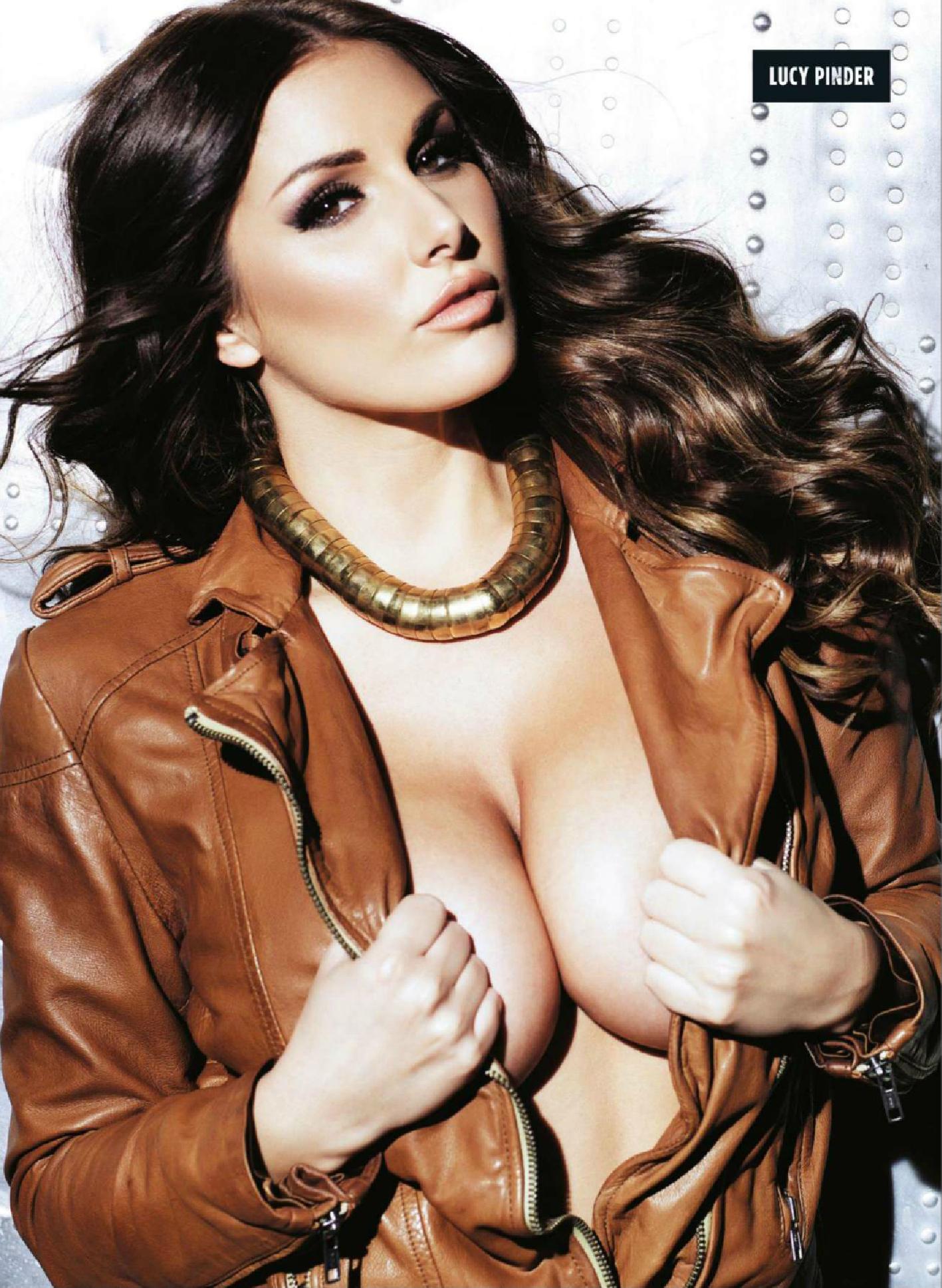 Lucy Pinder Magazine Nuts nue Novembre 2013 04