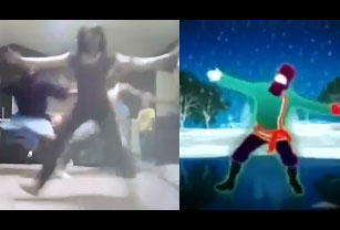 Grosse performance sur Rasputin dans Just Dance 2