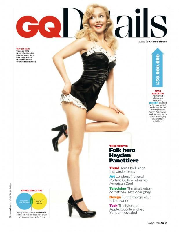 Hayden Panettiere pose en Pin-Up pour GQ