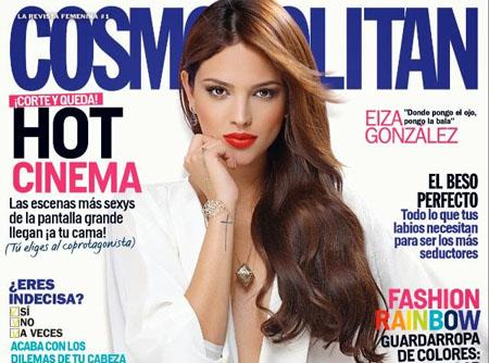 Eiza Gonzalez pose pour Cosmopolitan Mexico