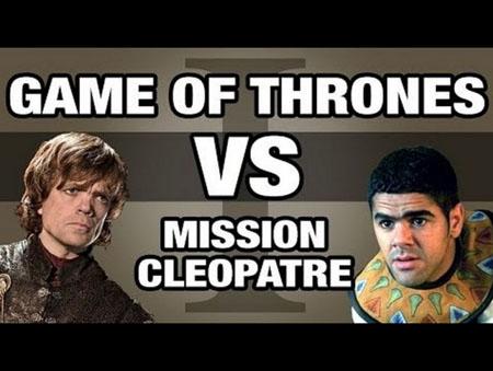 Lorsque Game of Thrones rencontre Astérix Mission Cléopâtre