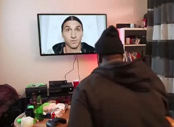 Parodie de la pub Xbox One avec Zlatan Ibrahimovic par Willaxxx