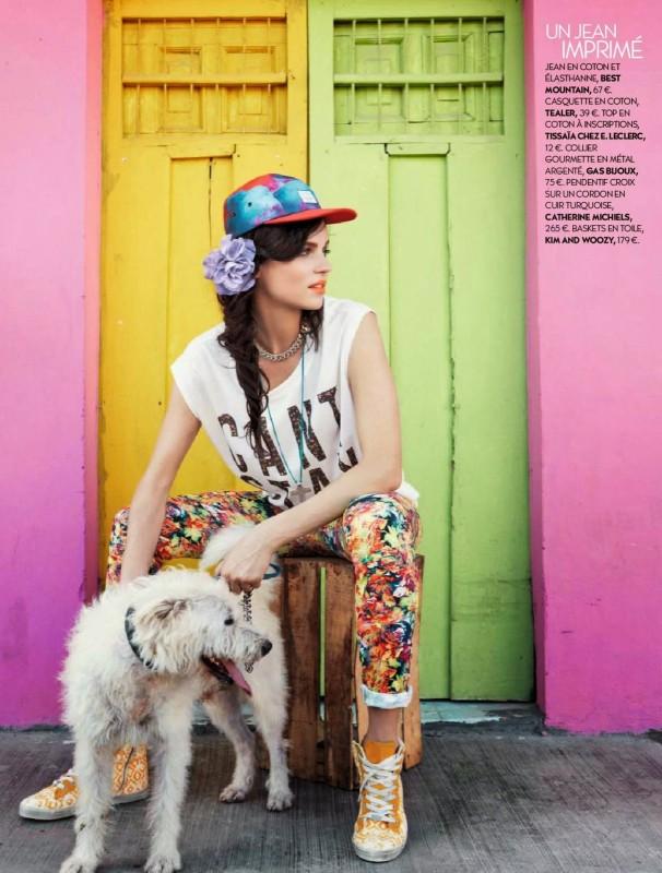 Katharina Rembi et un chien