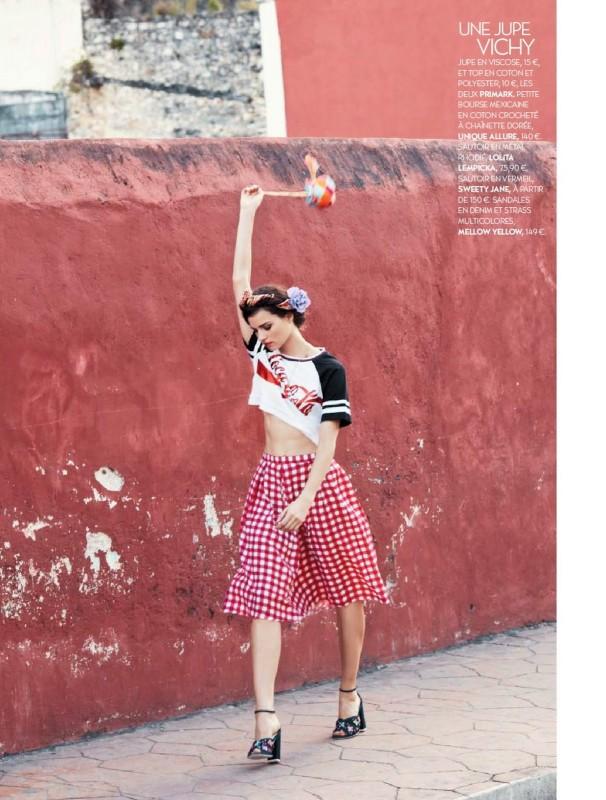 Katharina Rembi dans les rues de Cuba