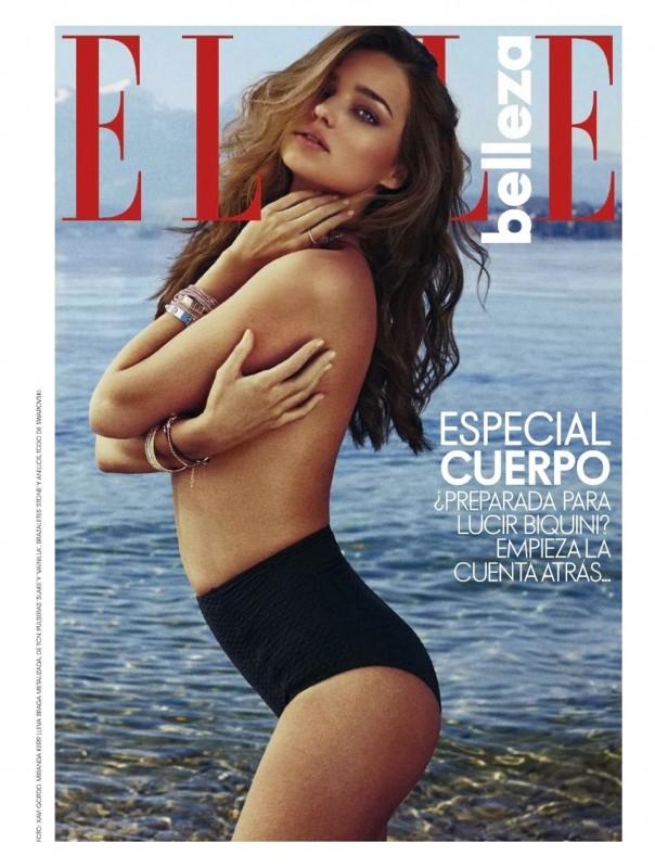 Miranda Kerr Especial Cuerpo Belleza ELLE magazine