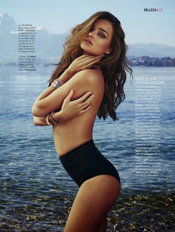 Miranda Kerr ELLE Magazine Espagne Mai 2014