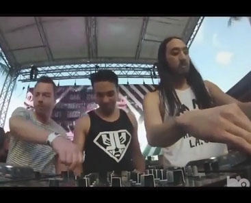 Les DJ ne mixe en réalité rien du tout lors de concert