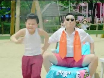 Gangnam Style sans musique et avec les vrais bruitages du clip