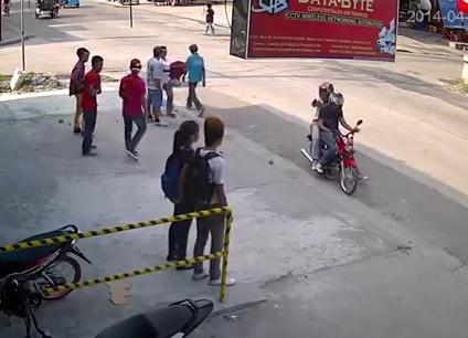 Un collégien philippin se fait tirer dessus à bout portant