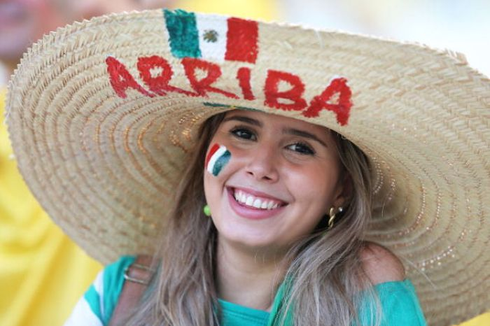 Une supportrice mexicaine