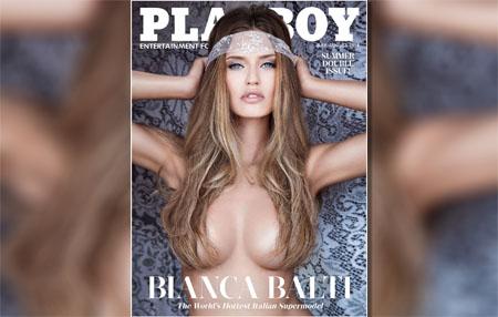 Bianca Balti pose nue dans le magazine Playboy US
