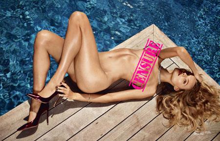Magdalena Frackowiak pose nue pour le magazine LUI