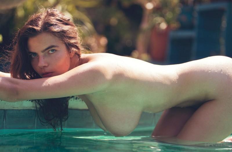 Alina Aliluykina pose pour le magazine Treats
