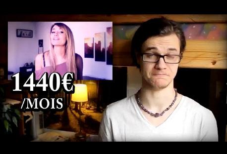 Les salaires des plus grands youtubeurs en France dévoilés