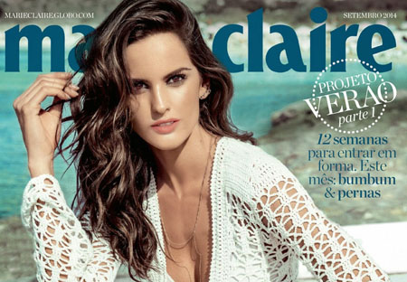 Izabel Goulart pour le magazine Marie Claire Brésil Octobre 2014