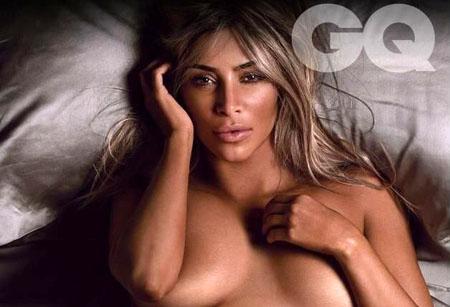 Kim Kardashian, femme la plus sexy de l'année selon GQ