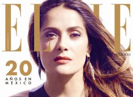 Salma Hayek pose pour le magazine ELLE mexicain
