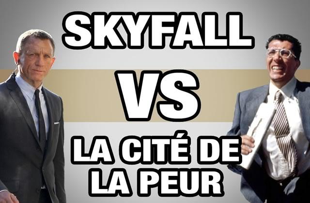 Mashup de Skyfall avec La cité de la peur