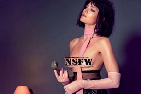Missy Rayder pose pour Vogue Ukraine de Novembre 2014