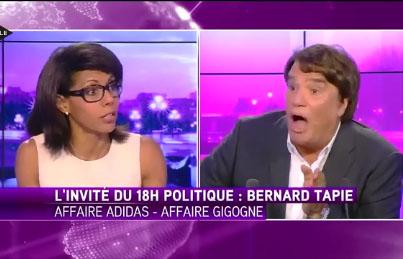 Audrey Pulvar VS Bernard Tapie: le clash sur iTélé