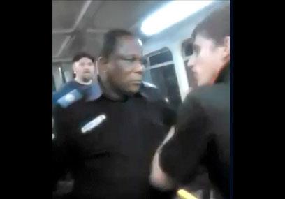 Un raciste australien insulte un agent de sécurité dans le train