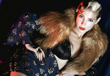 Elsa Pataky pose pour S Moda Espagne, Novembre 2014