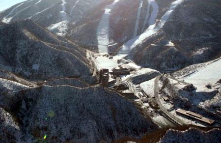 Découvrez la station de ski de luxe de la Corée du Nord