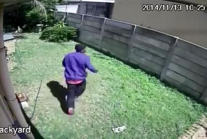 Un cambrioleur se fait violemment attaqué par une bête sauvage