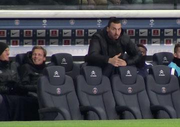 Zlatan Ibrahimovic trolle le médecin du club