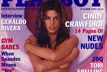 Cindy Crawford pose nue pour le magazine Playboy en 1998
