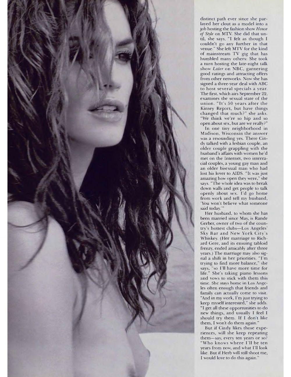 Cindy Crawford nue pour Playboy en 1998 5