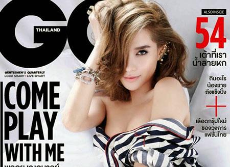 Laila Boonyasak pose pour GQ Thaïlande