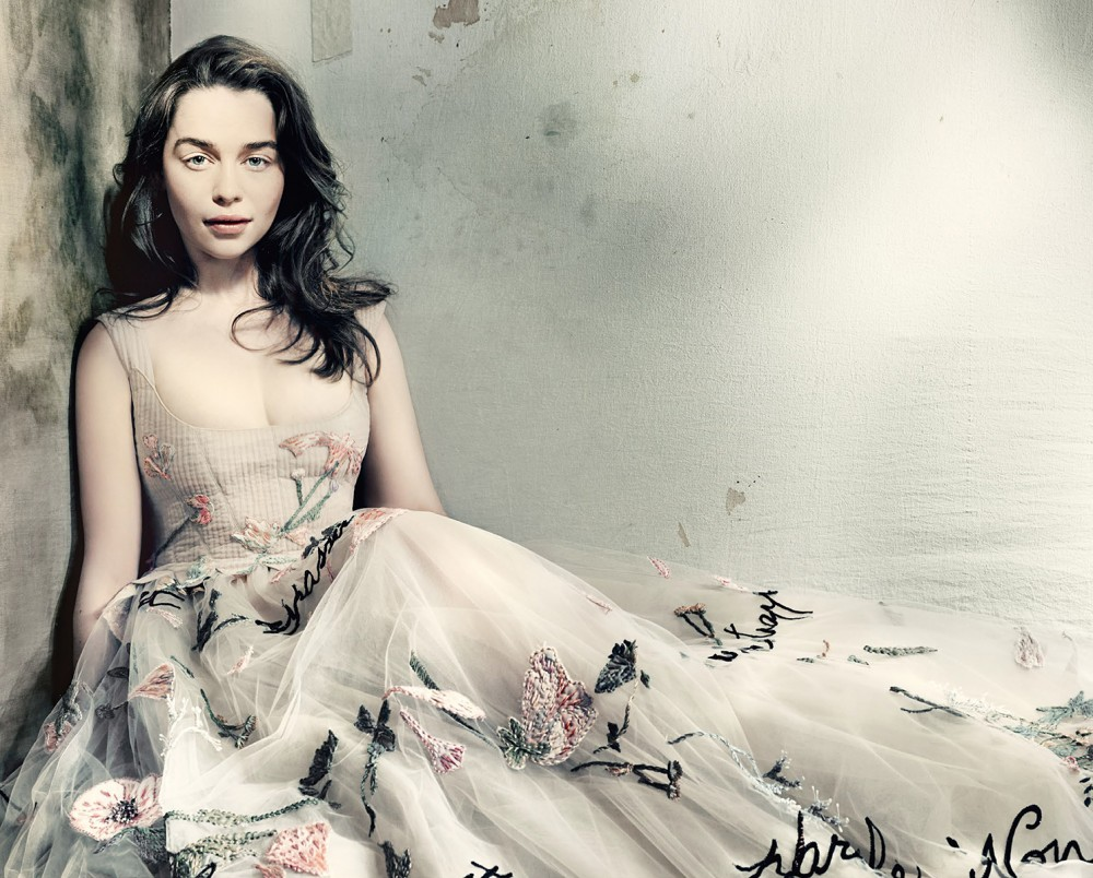 Emilia Clarke Vogue GB Mai 2015 01