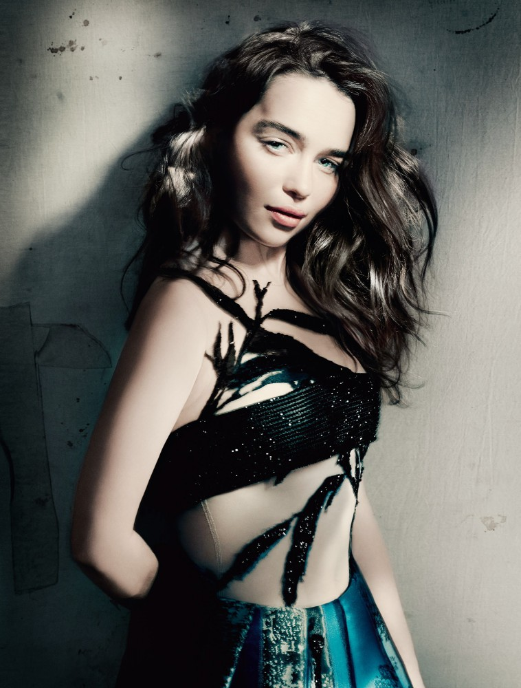 Emilia Clarke Vogue GB Mai 2015 04