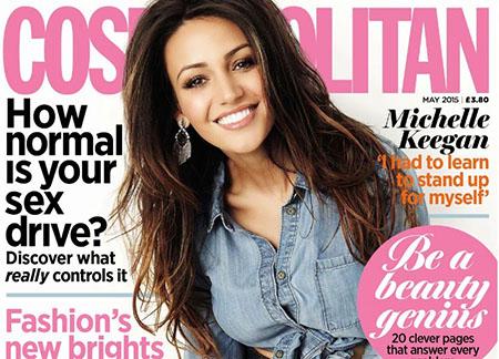 Michelle Keegan est la cover girl de Cosmopolitan UK de Mai