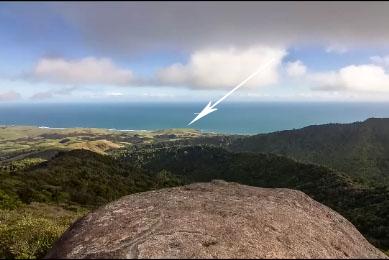 Il prend une photo précise à 4,5 kms de lui grâce à un zoom