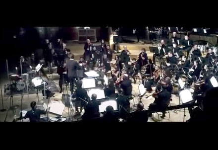 L'orchestre symphonique polonais joue des extraits hip-hop