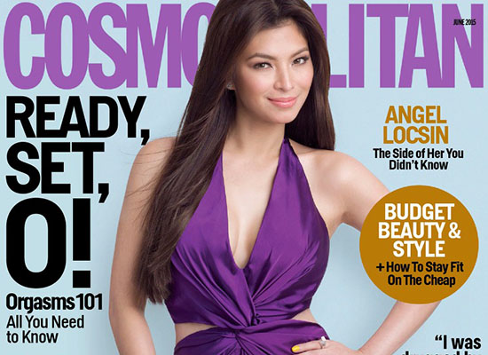 Angel Locsin pose pour Cosmopolitan Philippines, Juin 2015