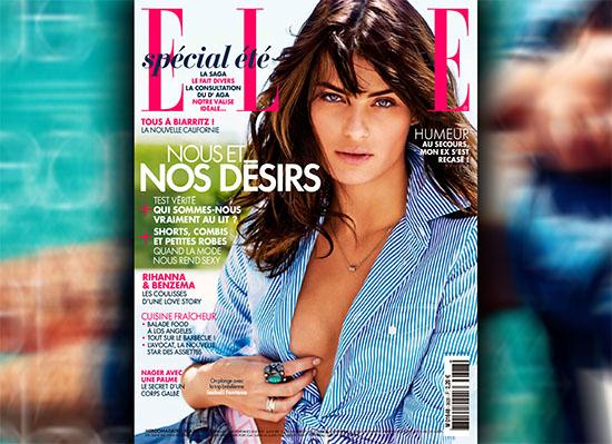 Le top Isabeli Fontana en mode estival pour le magazine ELLE