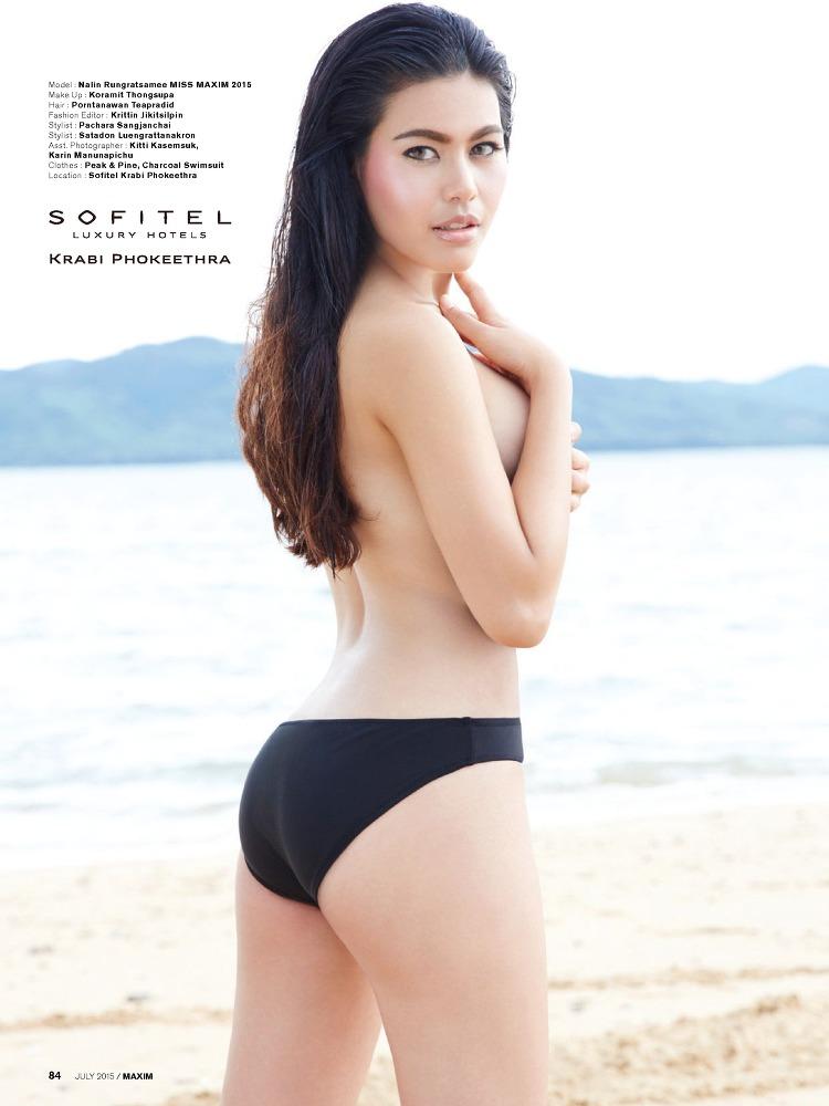 Nalin Rungratsamee pose pour le magazine Maxim thaïlanadais