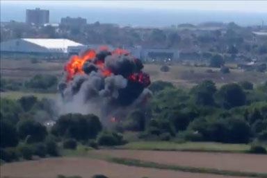 Un avion s'écrase à Shoreham et tue 7 personnes au sol