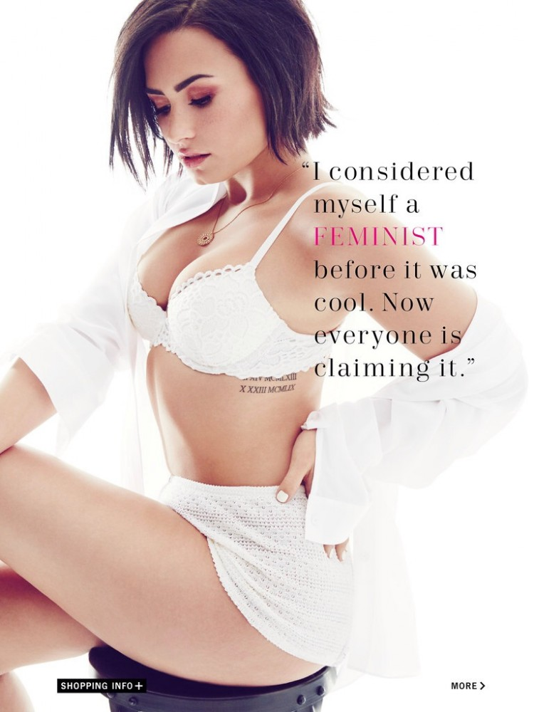 Demi Lovato pour Cosmopolitan USA